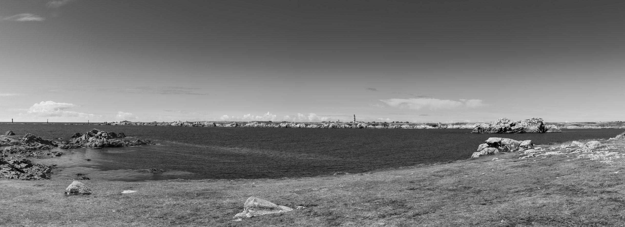 Bianco e nero - Francia - Ouessant - Panorama